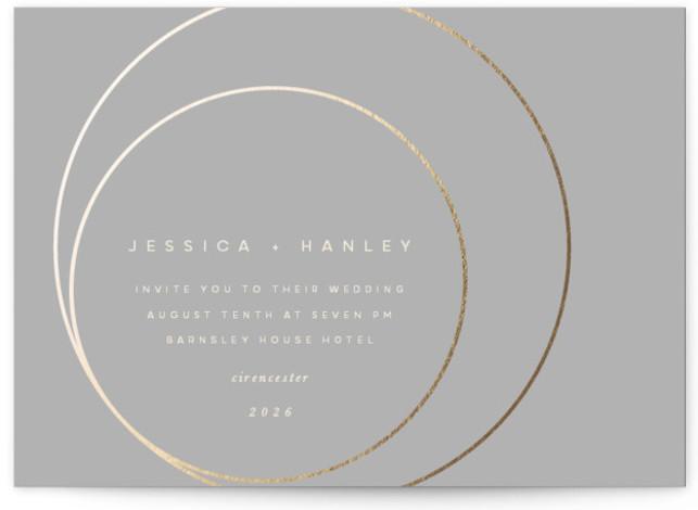 lili Foil-Pressed Wedding Invitations