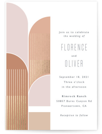 desert dream Wedding Invitations