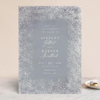 Dusted Gloss-Press™ Wedding Invitation