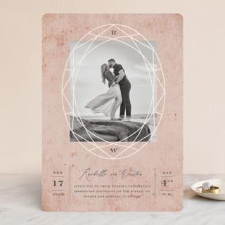 Mirror, Mirror Gloss-Press™ Wedding Invitation