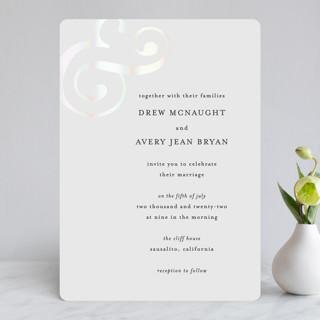 Classic Ampersand Gloss-Press® Wedding Invitation