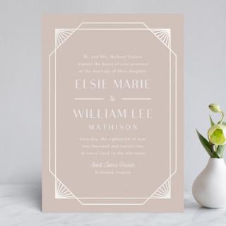 Radiant Frame Gloss-Press™ Wedding Invitation