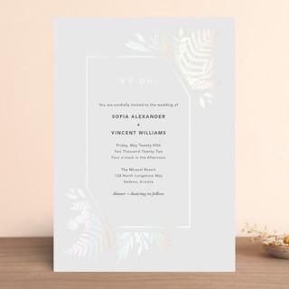 Garden Gloss-Press® Wedding Invitation