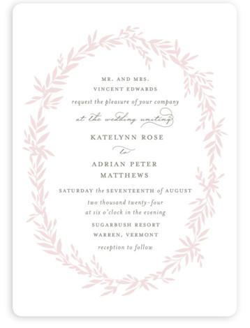 Gathered Wedding Invitations