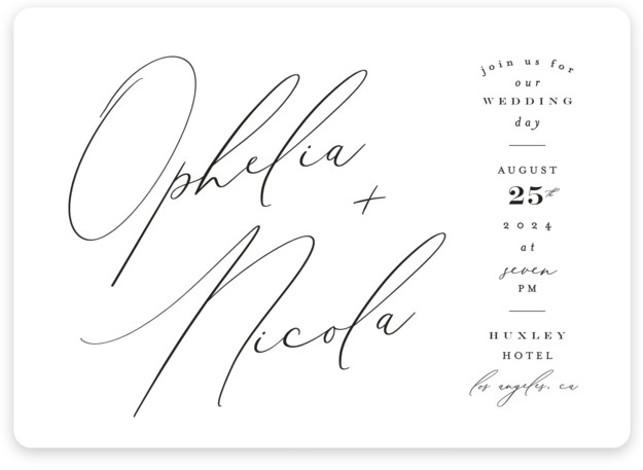 Us Wedding Invitations