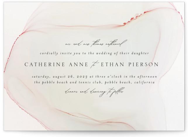 cultured pearl Wedding Invitations
