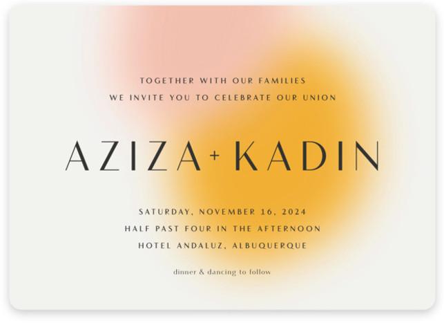 Blend Wedding Invitations
