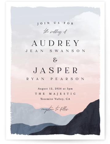 scene Wedding Invitations