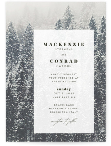 torrone Wedding Invitations