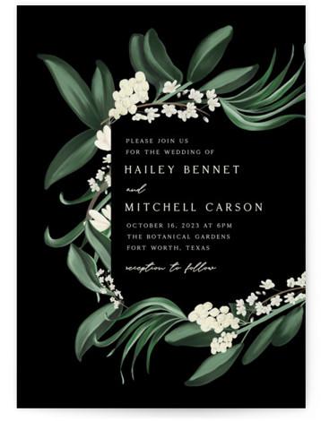 Meander Wedding Invitations