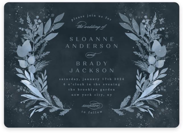 Wonderful Tonight Wedding Invitations
