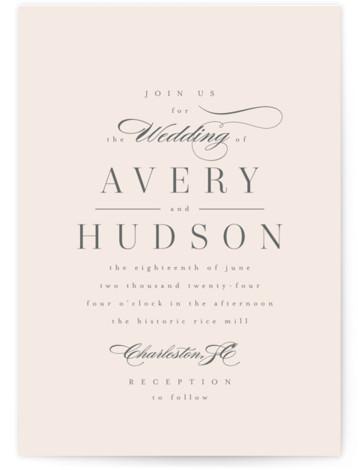 Anson Wedding Invitations