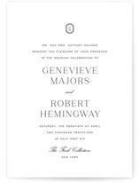 Upper East Wedding Invitations