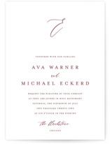 Delicate Wedding Invitations