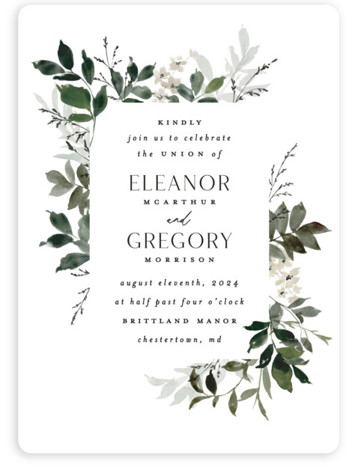 Grove Wedding Invitations