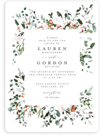 The Field Of Love Wedding Invitations
