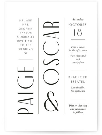 Arcadia Wedding Invitations