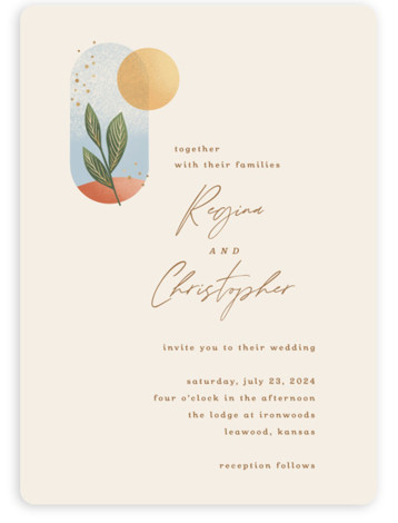 Essence Wedding Invitations