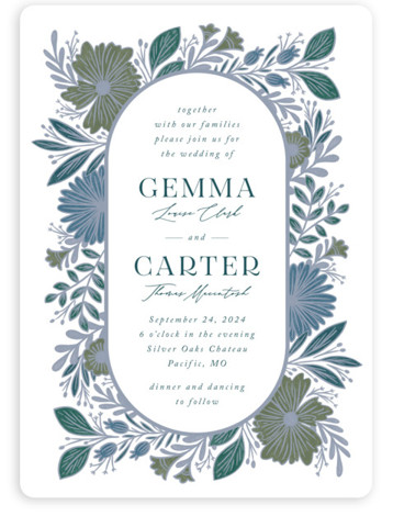 Flourish Wedding Invitations