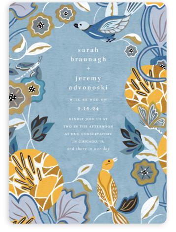 The Love Birds Wedding Invitations