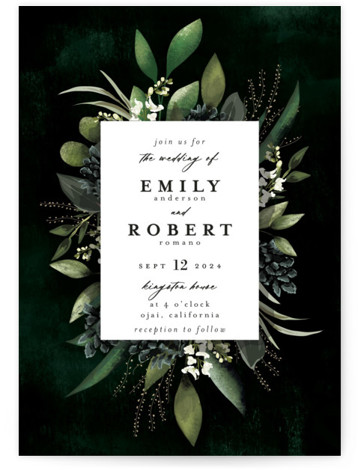 Forest Finds Wedding Invitations