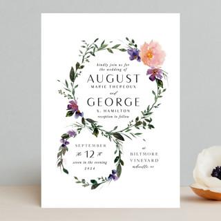 Garlands Wedding Invitations