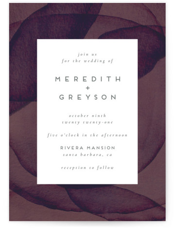 Petalis Wedding Invitations