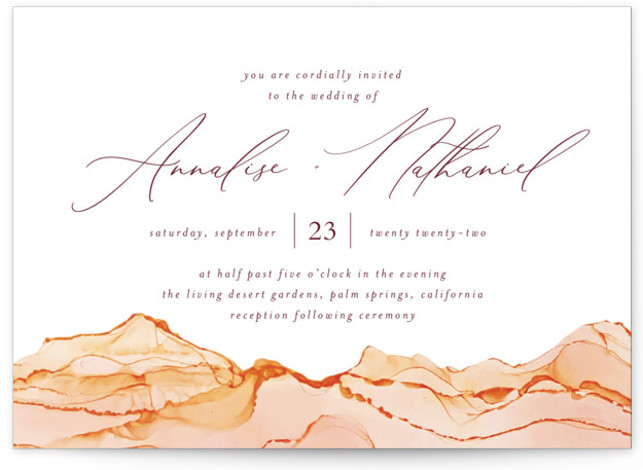 Sandstone Wedding Invitations