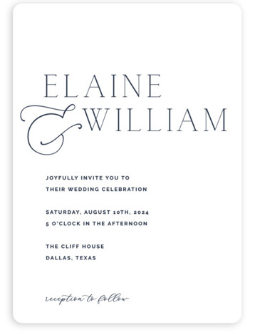 Forever Intertwined Wedding Invitations