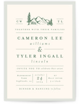 Blue Ridge Wedding Invitations