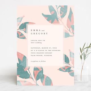 Boho botanics Wedding Invitations