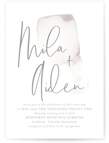 Moxie Wedding Invitations