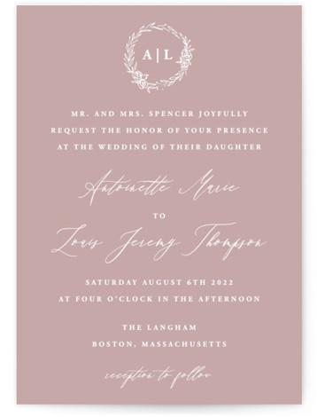 Antoinette Wedding Invitations