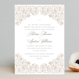 Hacienda Wedding Invitations