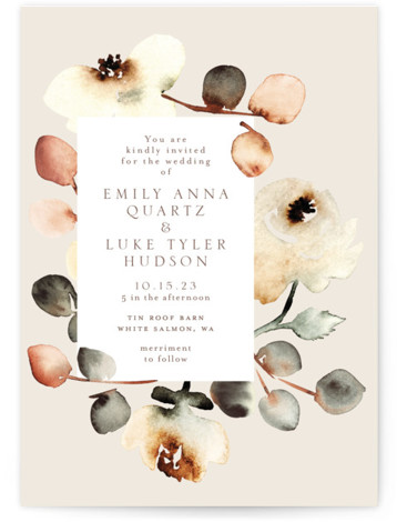 Bella Mia Wedding Invitations