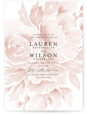 Wedding Dream Wedding Invitations