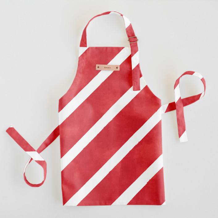 Candy Cane Stripes Children's Apron