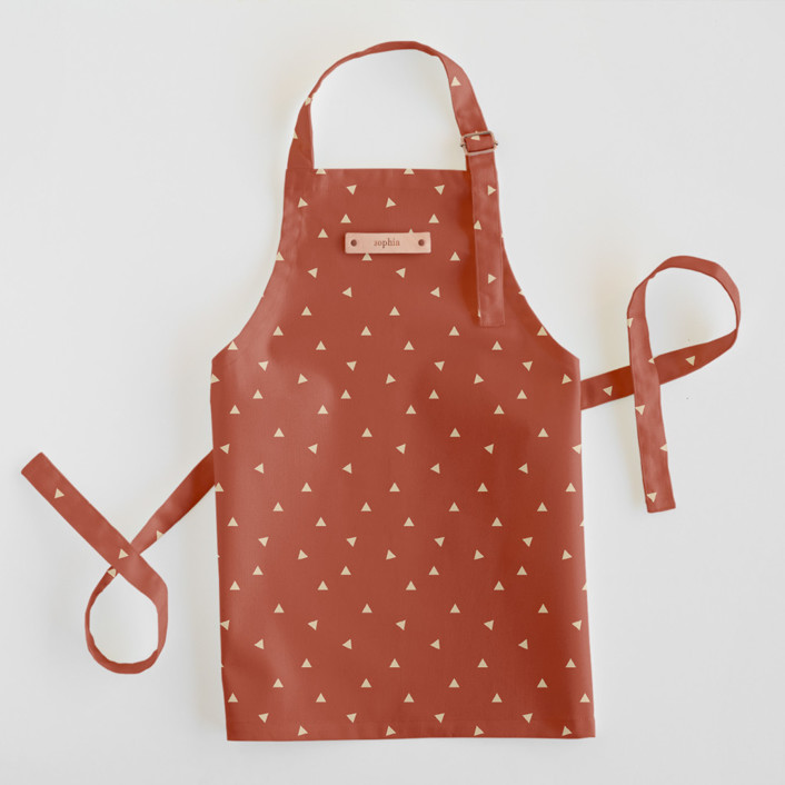 Golden Triangle Personalized Kids Aprons