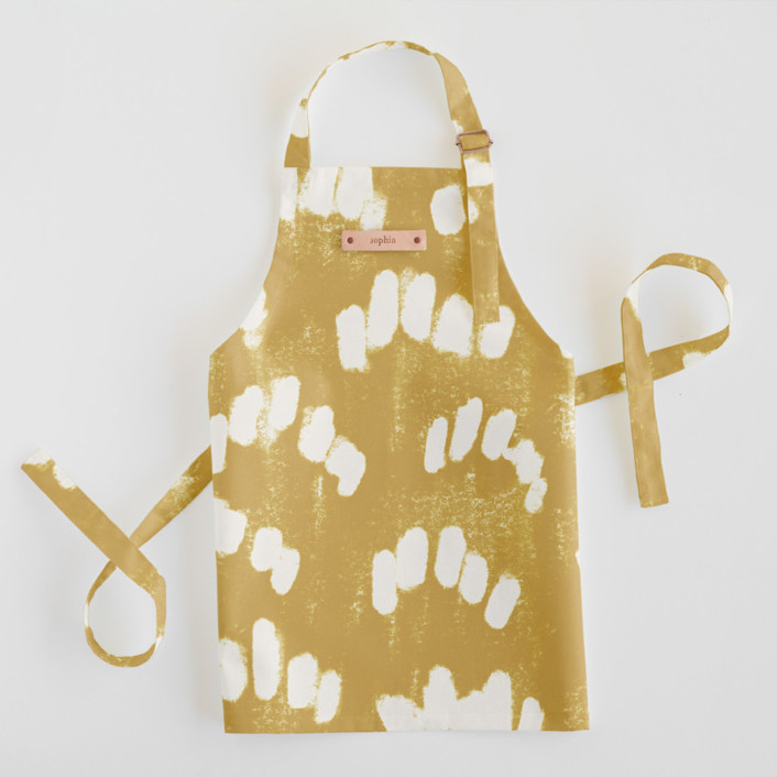 Abstract Texture Personalized Kids Aprons