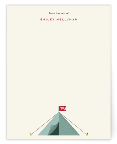 Little Adventurer Children's Personalized Stationery