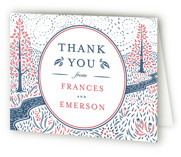 Into the Woods Letterpress Thank You Cards
