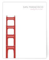 San Francisco Golden Gate Bridge Non-Custom A2 Cards