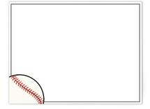 Baseball by Francois Carrara