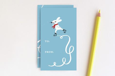 Skating Bunny Mini Cards