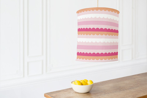 Bold Lines Self Launch Chandelier Lampshades