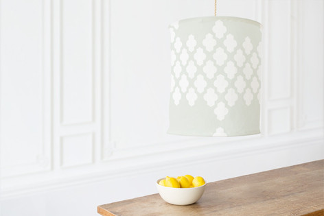 Foiled Arabesque Wedding Self Launch Chandelier Lampshades