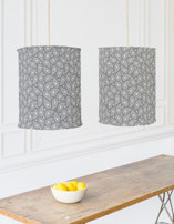 Perfect Paisley Self Launch Chandelier Lampshades