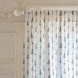 arrow woodland Curtains