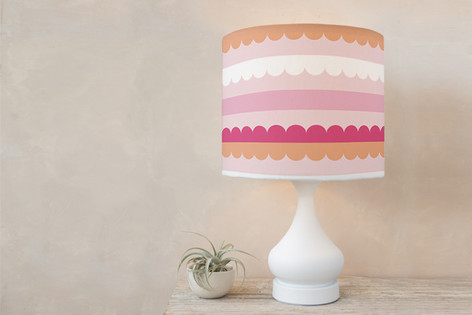 Bold Lines Self Launch Drum Lampshades