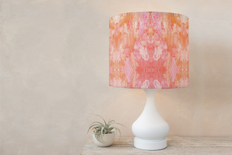Simply Sorbet Self Launch Drum Lampshades